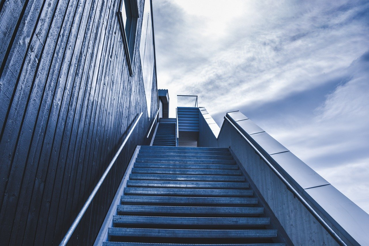 Stairway Staircase Stairs Outdoors  - Free-Photos / Pixabay