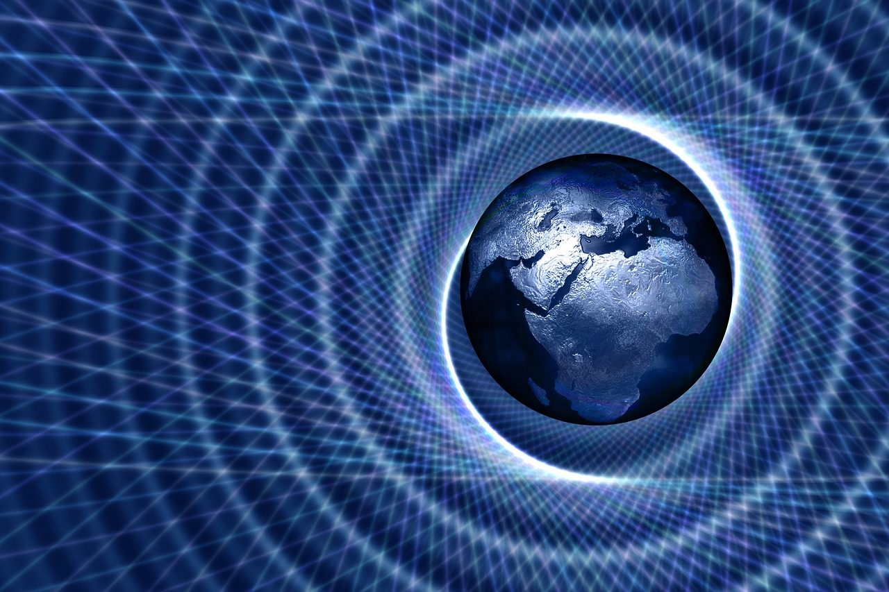 Spiral Africa Europe Asia Globe  - geralt / Pixabay