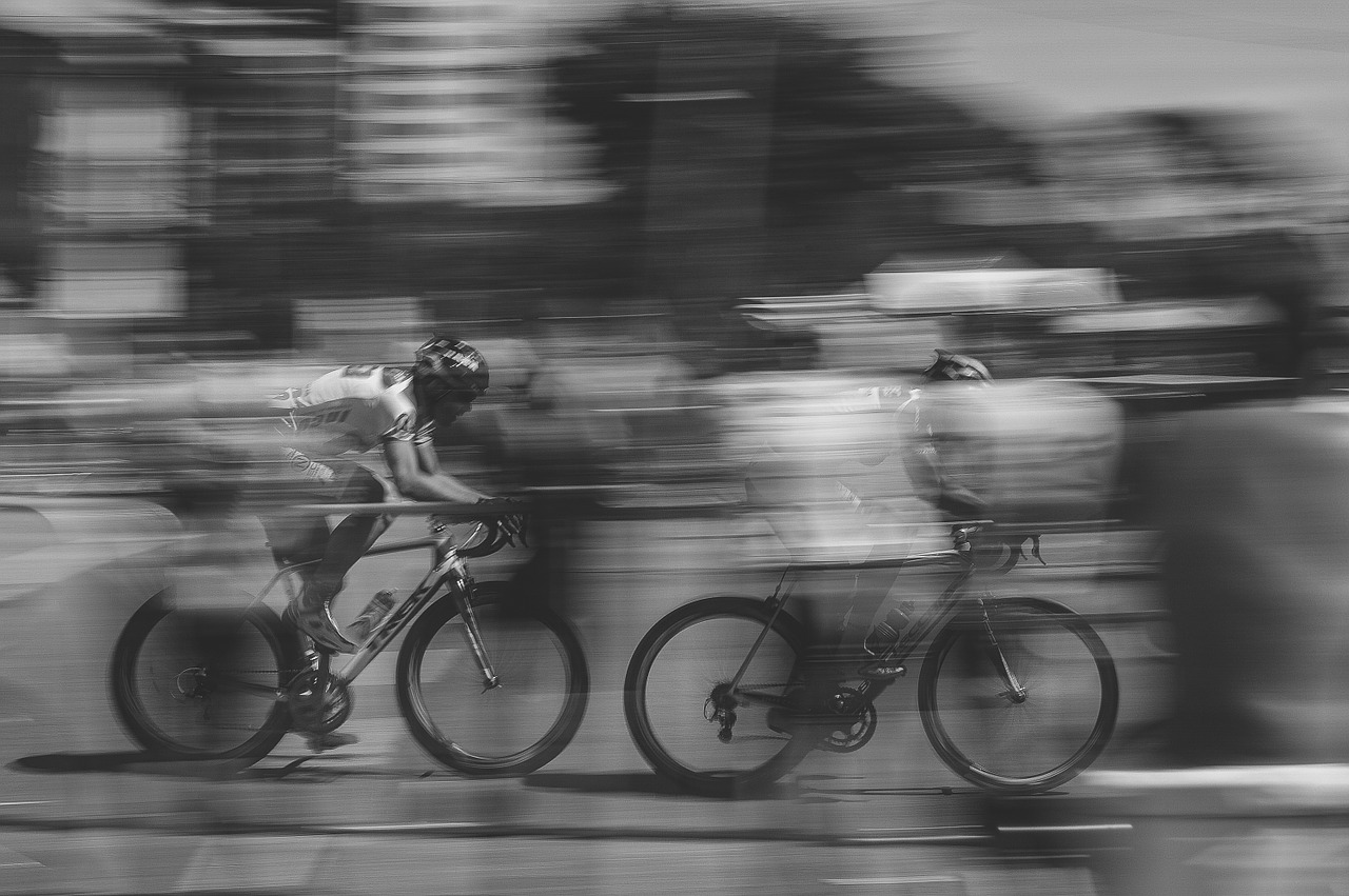 Bike Riding Fast Moving Bike Motion  - Free-Photos / Pixabay